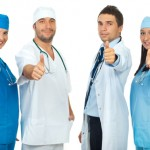 http://www.dreamstime.com/stock-photo-successful-group-doctors-giving-thumbs-image16448610